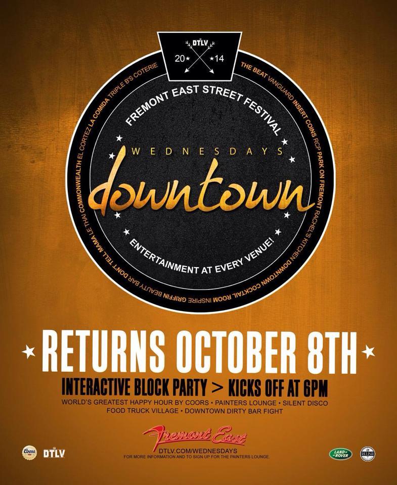 Wednesdays Downtown - Las Vegas - #DTLV
