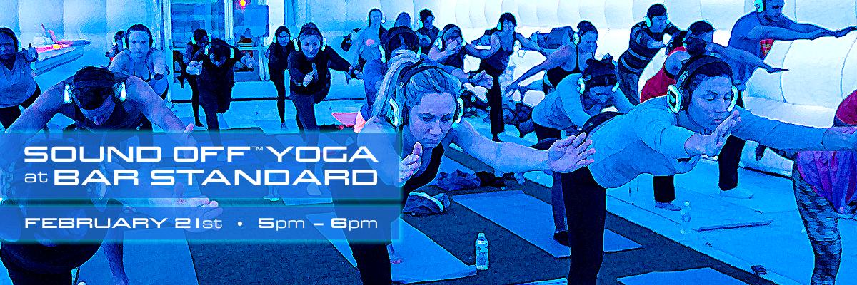 Sound Off Yoga at Bar Standard