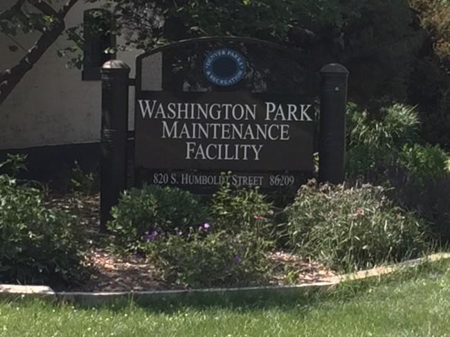 Wash Park Maintenance Facility