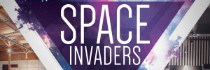 Space Invaders x Sound Off Silent Disco at Cluster Studios