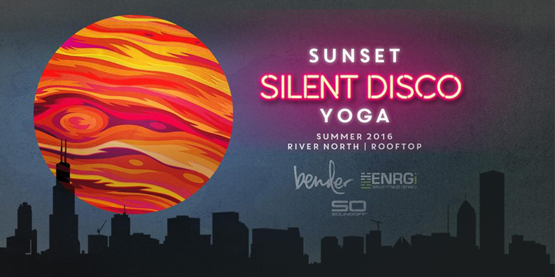 BENDER: Sunset Silent Disco Yoga