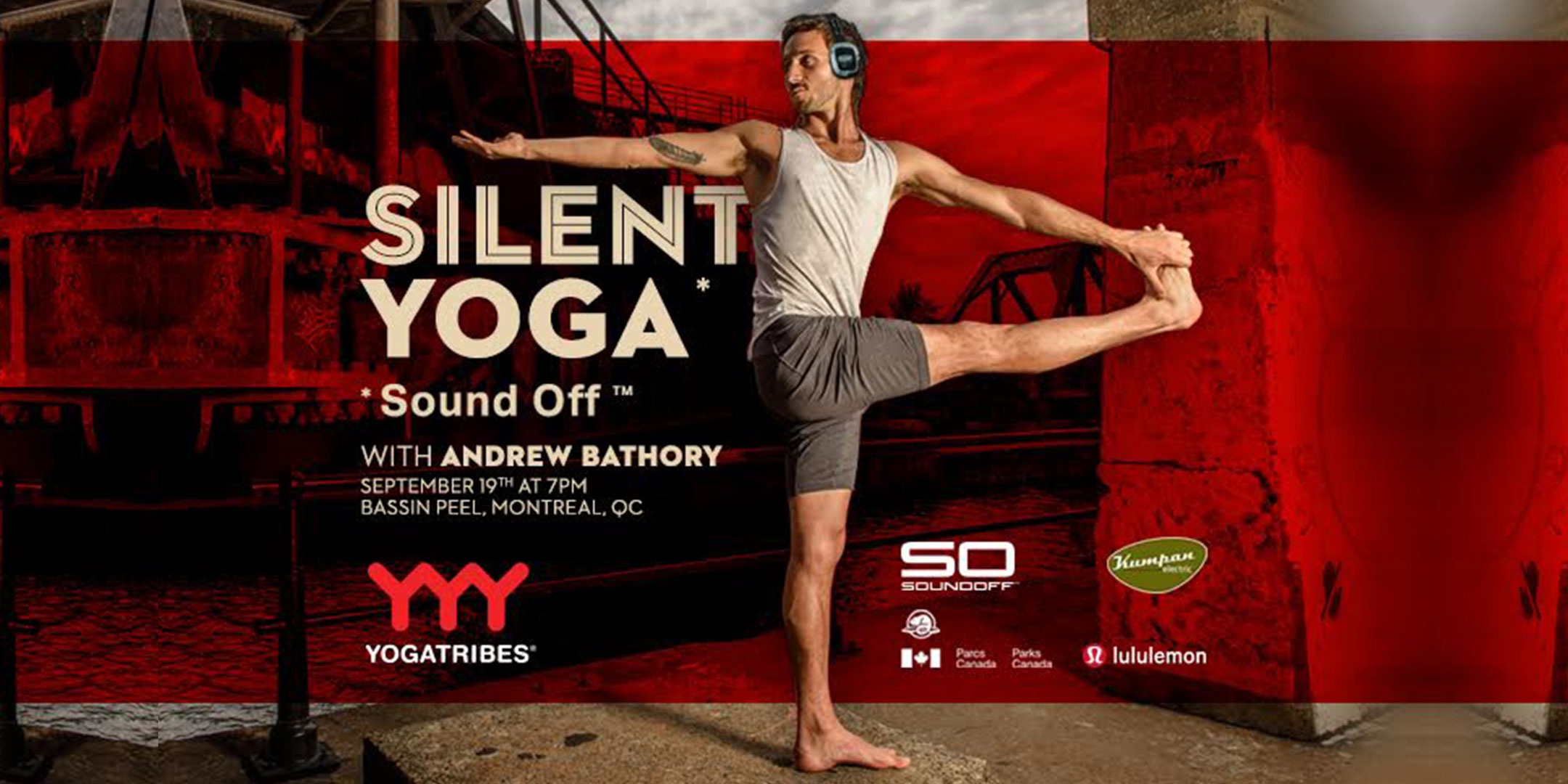 YogaTribes x Sound Off™ : A Silent Yoga Experience
