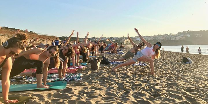 New Year's Eve Beach Yoga