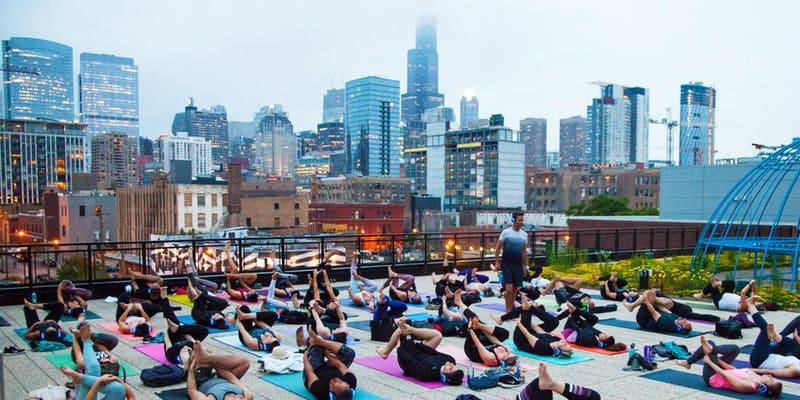 Bender CHI: Sunset Yoga at Ace Hotel