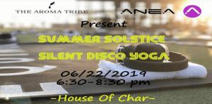 Summer Solstice Silent Disco Yoga