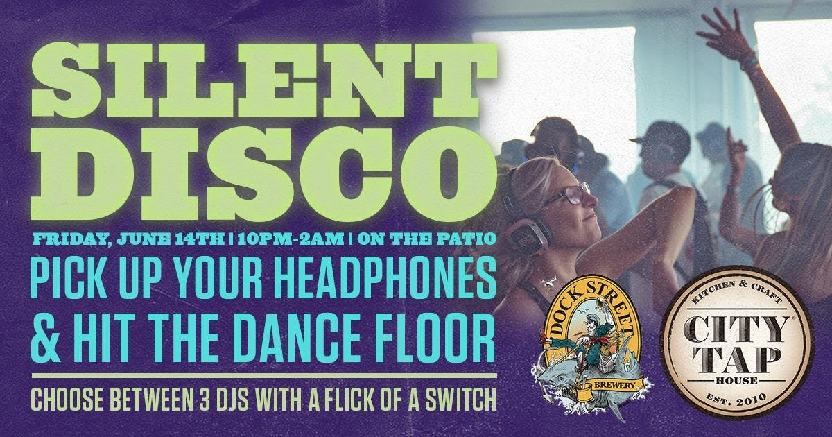 Silent Disco on the Patio