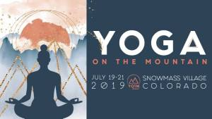 Yoga on the Mountain 2019