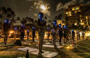 Full Moon Silent Disco Yoga w/Alex {Power Flow}