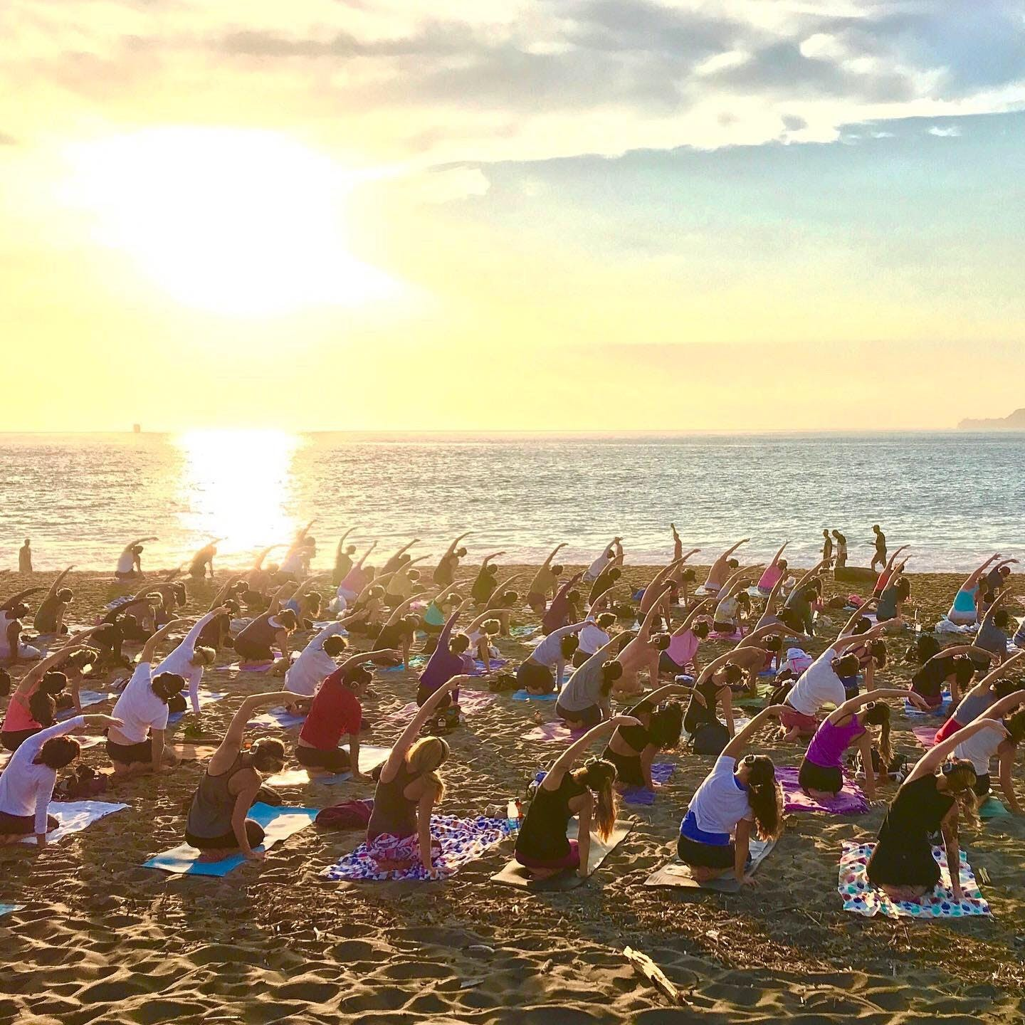 Sunset Zen Yoga with Kirin Power