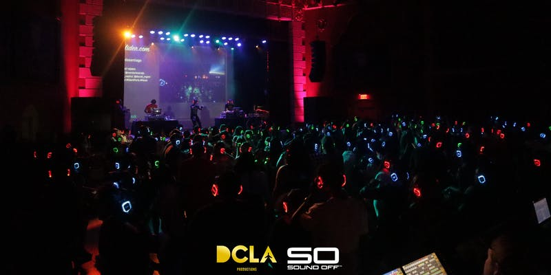 90's VS Trap Silent Headphone Dance Party @ Regent Theater DTLA
