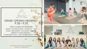 Metta Yoga Grand Opening Celebration