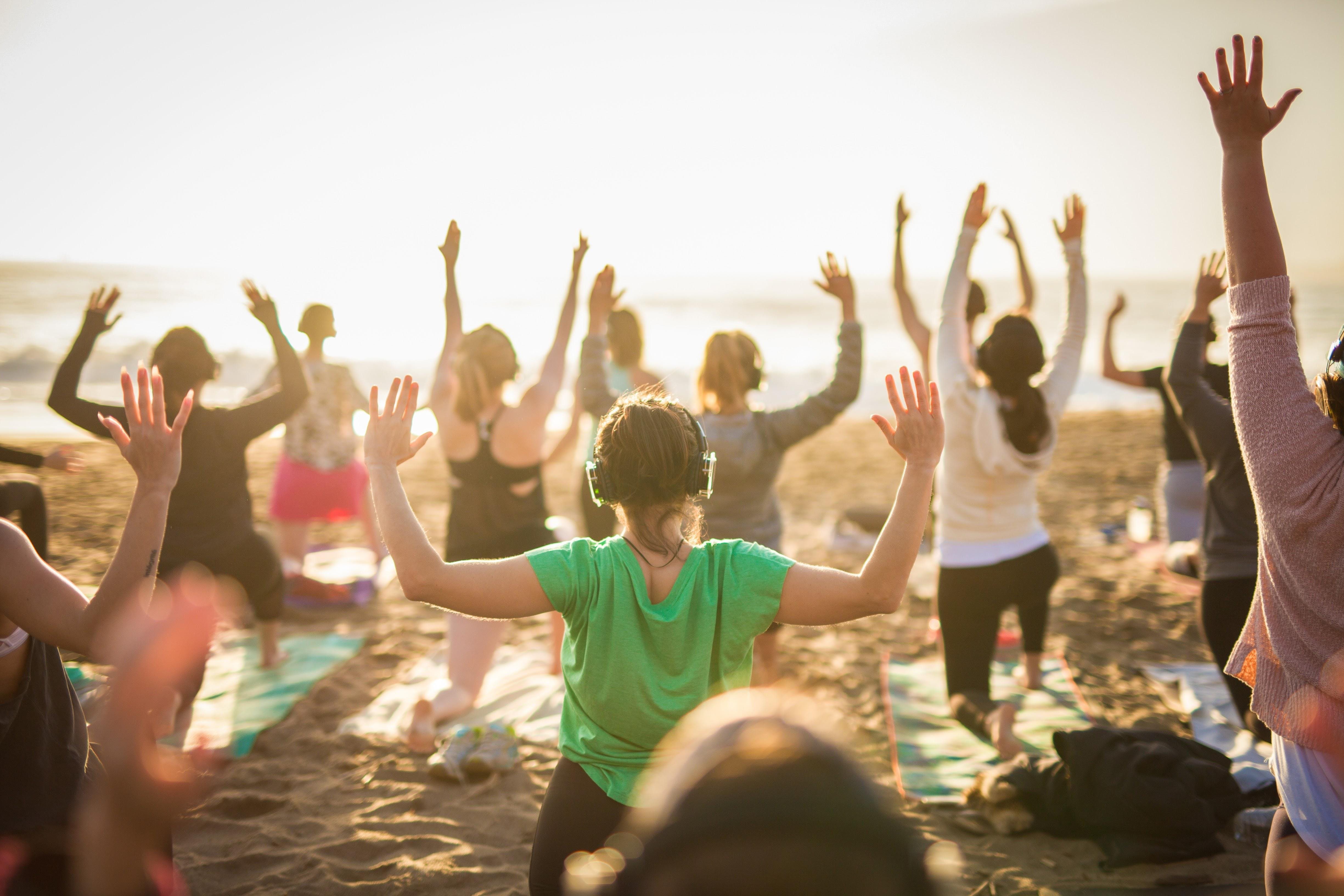 Friday Sunset Yoga with Kelly Becerra!