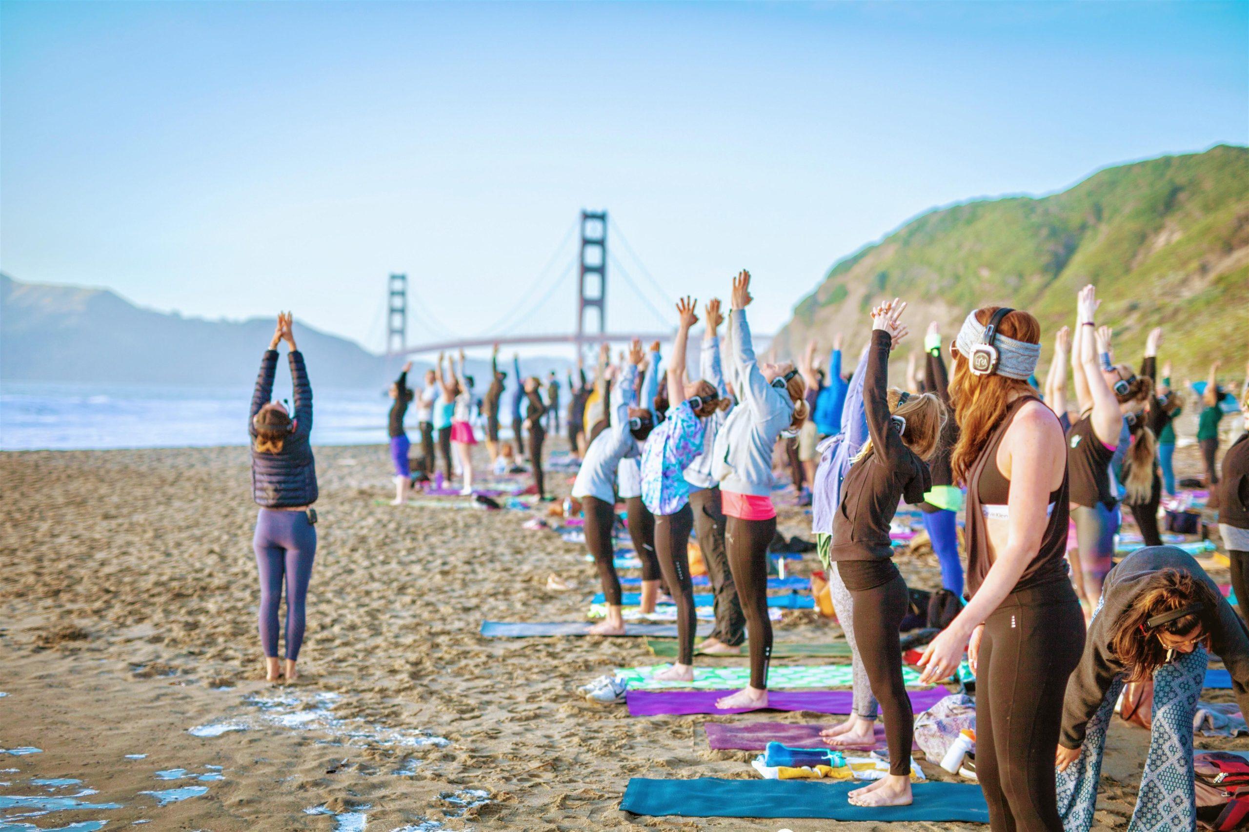 Sunday Beach Yoga with Julie!