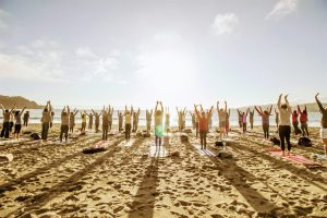 Saturday Groove Beach Yoga with Kirin