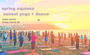 Spring Equinox Gathering :: Sunset Beach Yoga + Dance