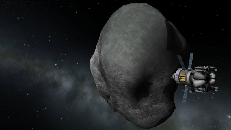 ARM Asteroid Intercept