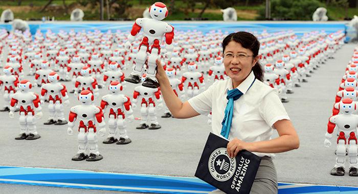roboti, record mondial