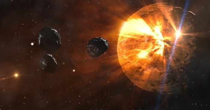 asteroizi, neptun, soare
