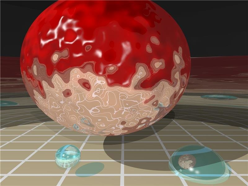 electron, foton, nanoparticule