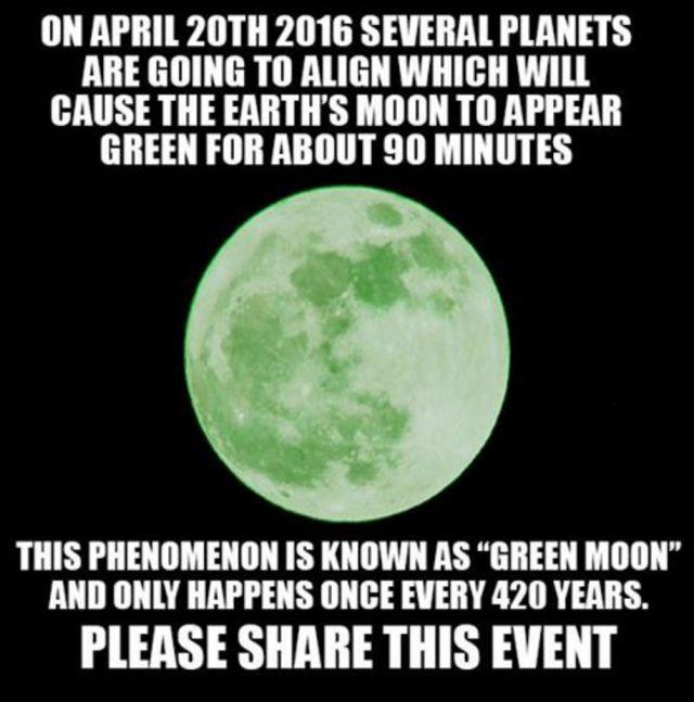 luna verde hoax