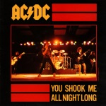 You Shook Me All Night Long sleeve