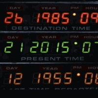 Back from the future to the past: October 26 1985