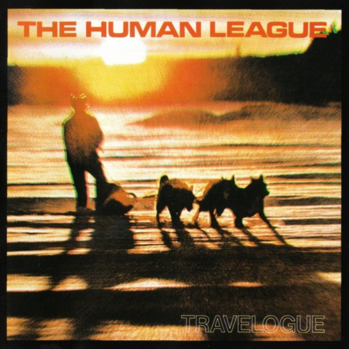 "Human League ""Travelogue"" sleeve"