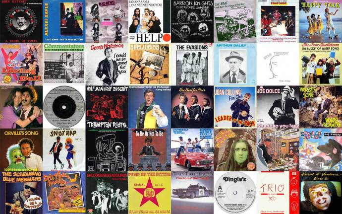 Lots of comedy singles