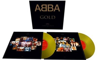 """ABBA Gold"" 2017 gold vinyl edition"