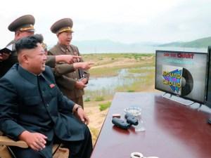 Kim Jong Un enjoying this week's Off The Chart