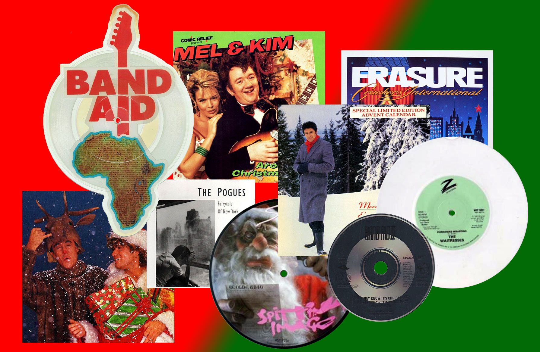 Vote for your favourite '80s Christmas hit!