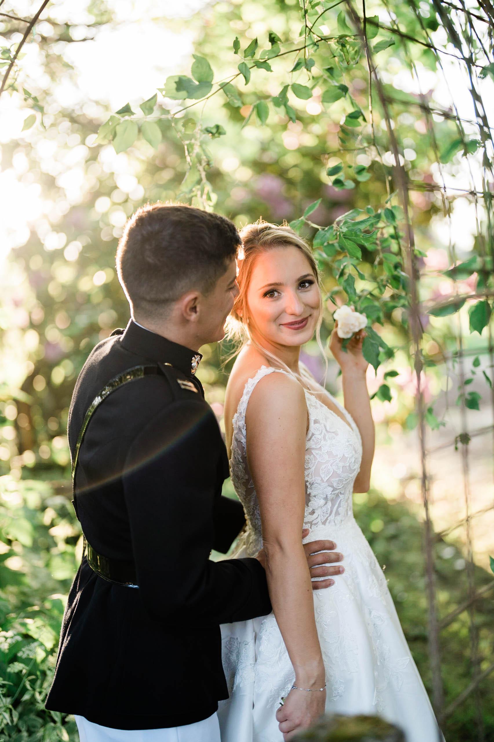 craven farm wedding has garden venue for couples portraits
