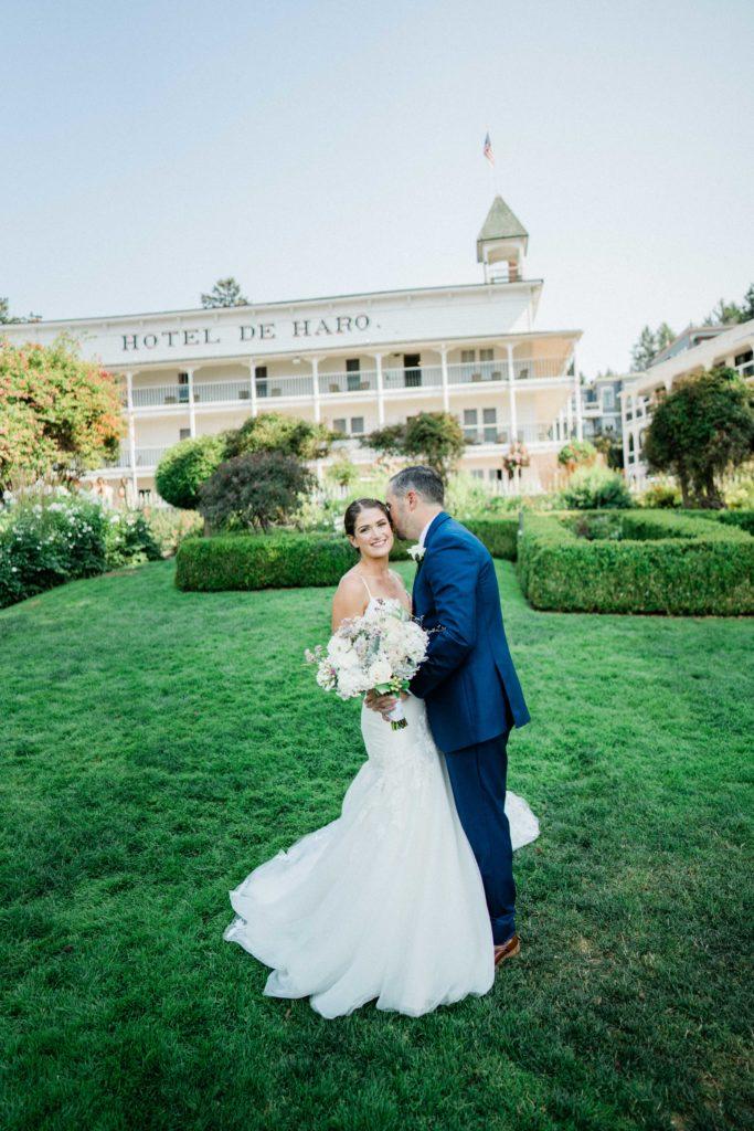 Roche Harbor Resort wedding