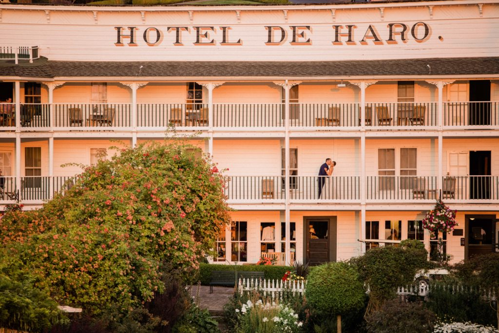 Roche Harbor Resort wedding photos