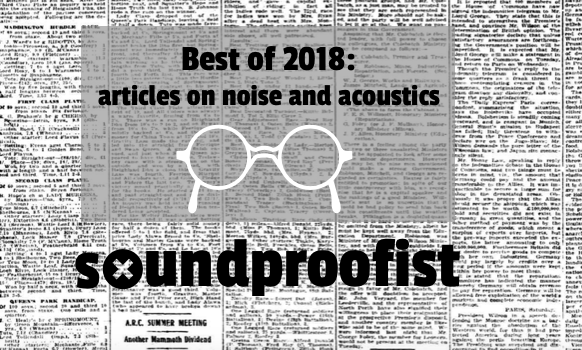 Best of 2018: articles on noise and acoustics