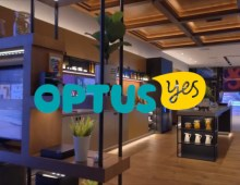 Optus on Geoge