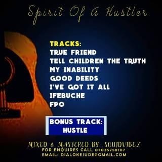 Djunmega - Spirit  Of A Hustler