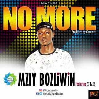 Mziy Bozliwin ft. Chromix & TY Gospel - No More