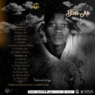 Teewizy - Bless Me Tracklist