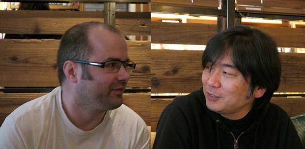 東京モジュラーフェス主宰のHATAKENさんとDAVE SKIPPERさん