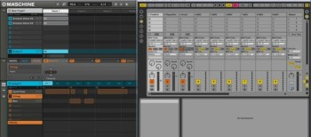 Maschine triggering VSTs in Ableton Live