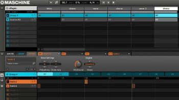 Maschine song mode tutorial how to use scenes