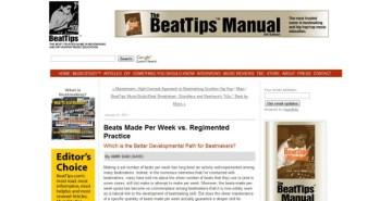 Beats made per week vs regimented practice time?