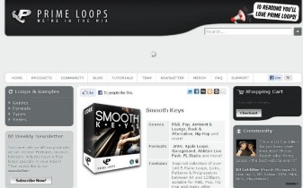 Prime Loops Smooth Keys EP library review