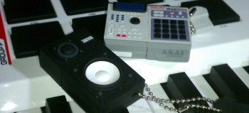 Checkout these Akai MPC and Yamaha NS-10 USB flash drives