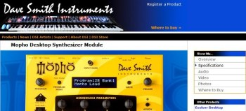 Dave Smith Mopho analog synthesizer review