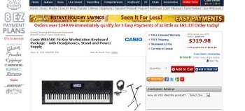 Casio WK6500 76 Key Workstation Keyboard Package review