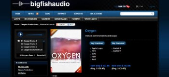 Big Fish Audio Oxygen ambient cintematic library review