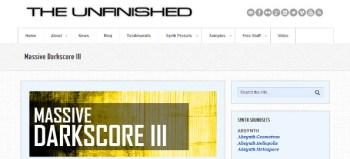 Massive Darkscore III patch library for NI Massive