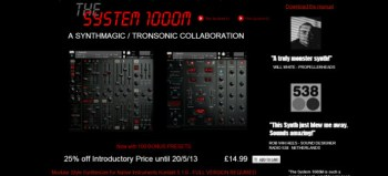 System 1000M analog modular synth review
